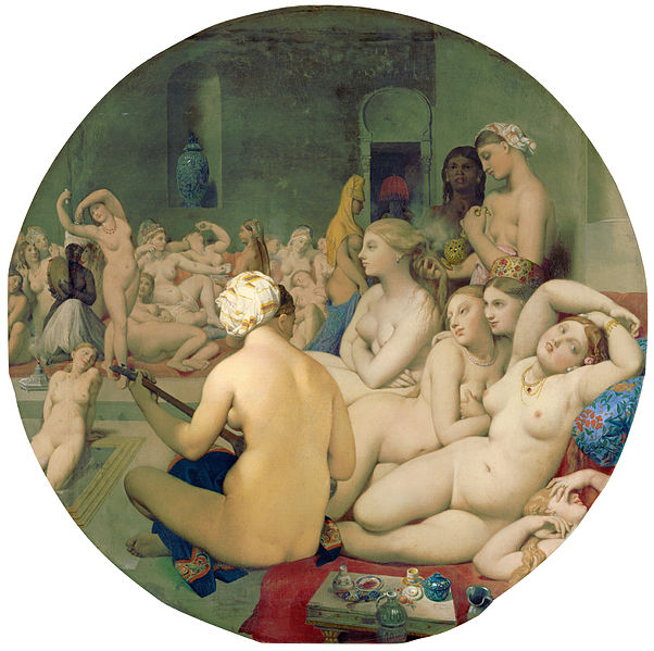 602px-Le_Bain_Turc,_by_Jean_Auguste_Dominique_Ingres,_from_C2RMF_retouched